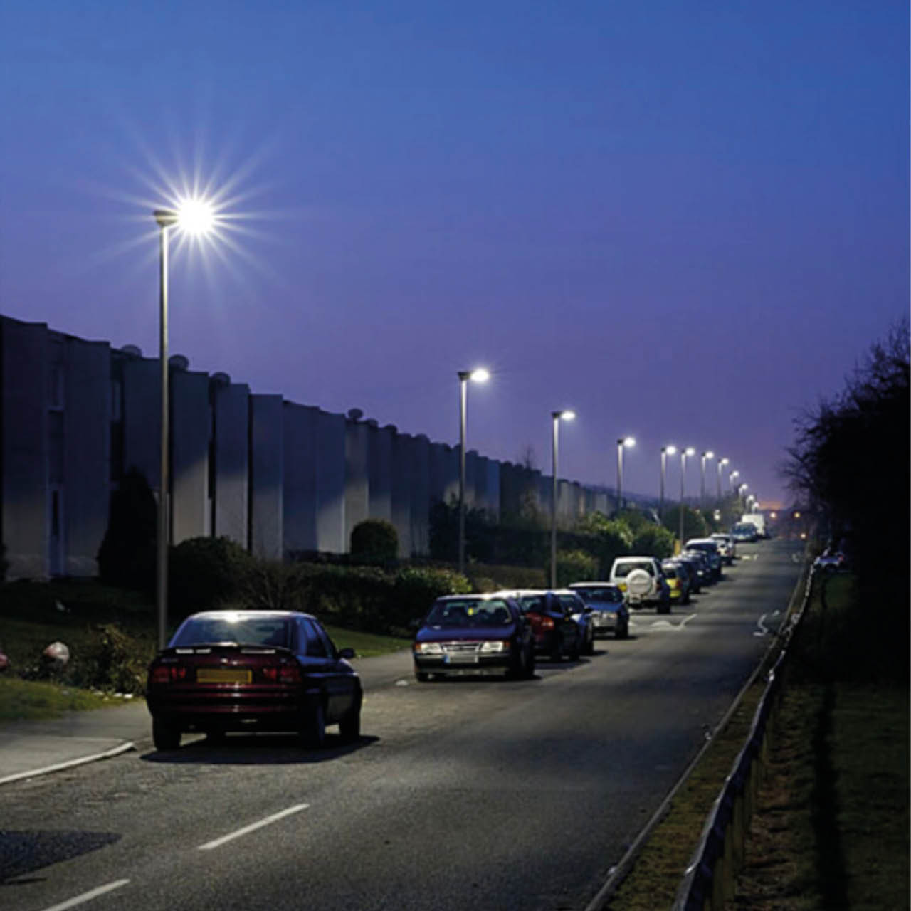 S278 lighting design Urban street
