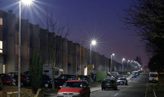 lighting design urban scene at night