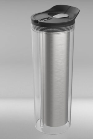 water bottle straight sides