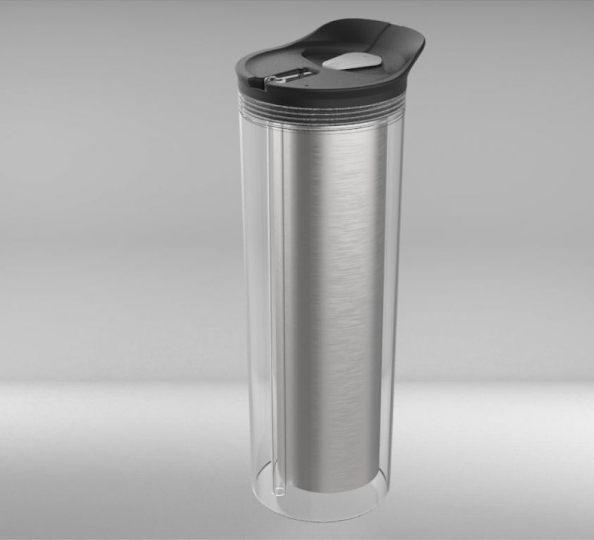 Dual Hot and Cold Beverage Bottle